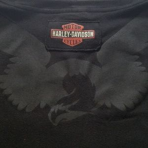 Harley Davidson Plus Size Black TShirt Size 22 XXL